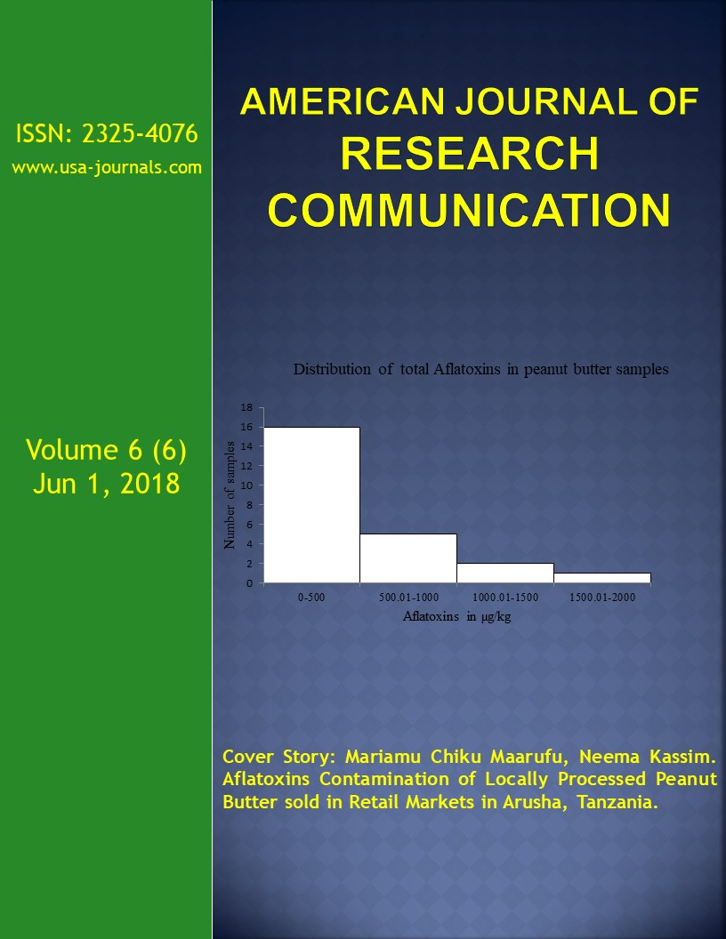 Volume 6(6) | American Journal of Research Communication