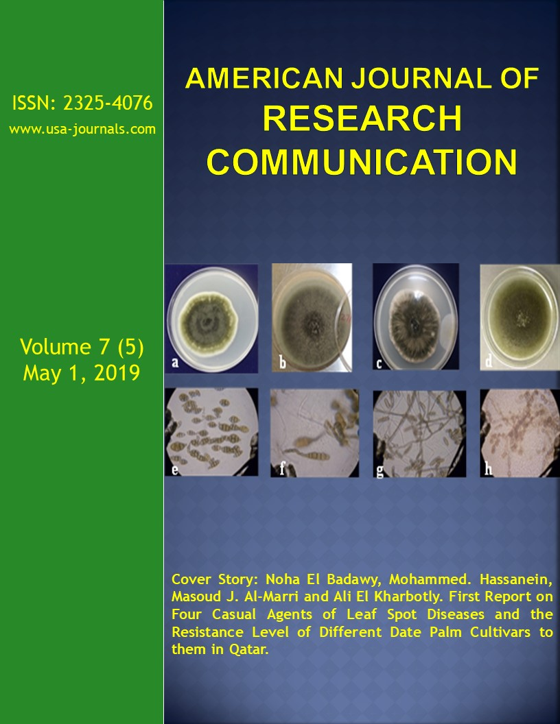 Volume 7(5) | American Journal of Research Communication