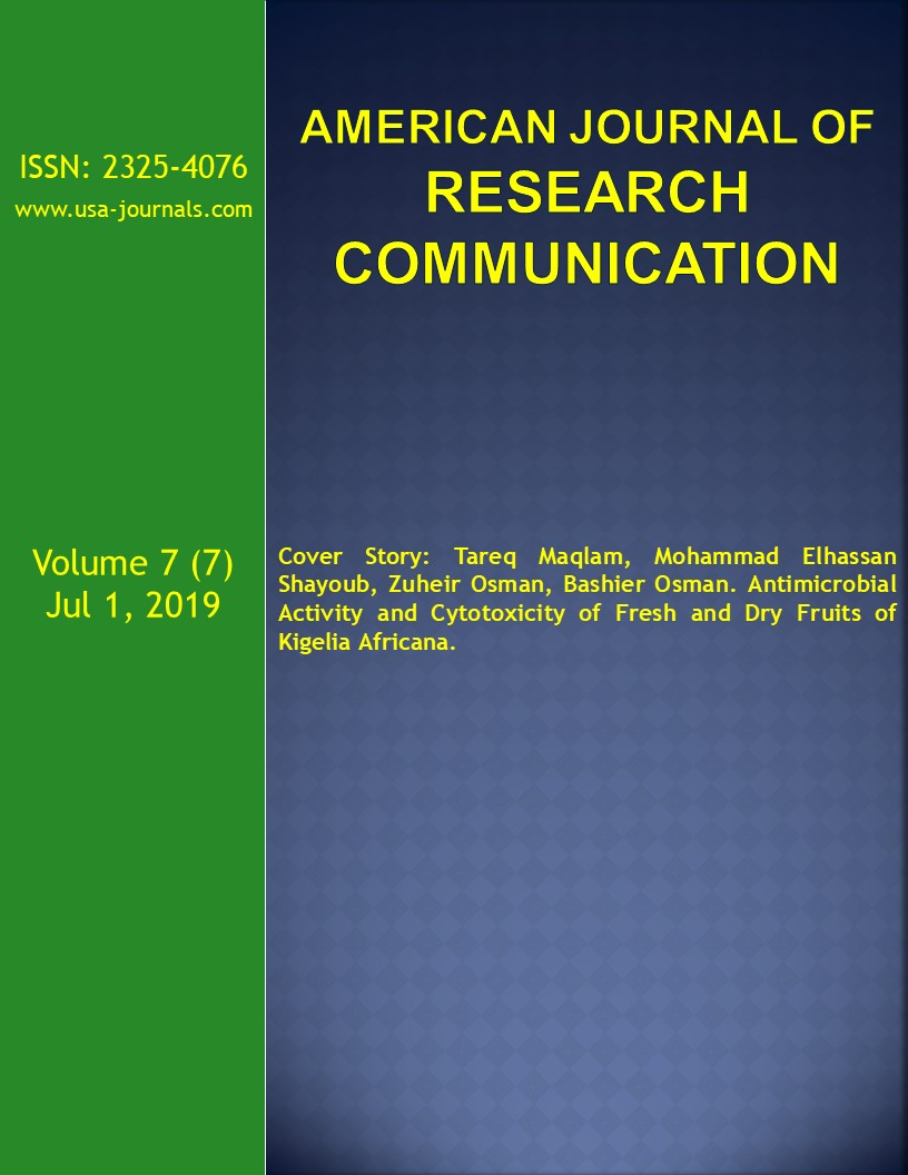 American Journal of Research Communication | American